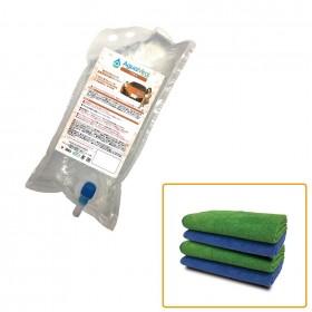 AguaMirai FORTE 2L KIT (pacote recarga + 4 toalhas)