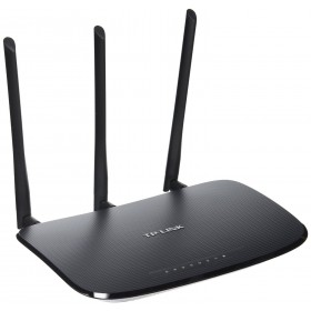 TP-LINK TL-WR941ND Wireless N300 Home Router, 300Mpbs,3 Detachable Antennas, IP QoS,WPS Button