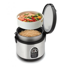 Aroma ARC-150SB - Digita Rice Cooker and Food Steamer (~20-Cup)