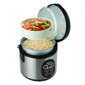 Aroma ARC-914SBD - Digita Rice Cooker and Food Steamer (~8-Cup)