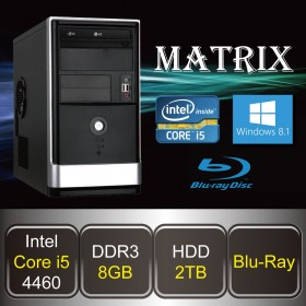 DESKTOP PC - MATRIX-i5 (Core i5 / 8GB DDR3 / HDD 2TB / Blu-ray / Win8.1)