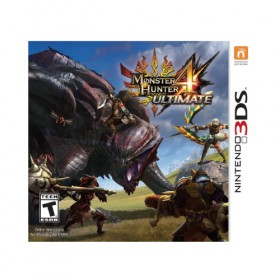 Monster Hunter 4 Ultimate *Standard Edition* - 3DS (USA)