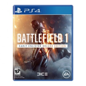 Battlefield 1 Early Enlister Deluxe Edition - PS4 (USA)