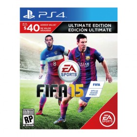 FIFA 15 *Ultimate Team Edition* - PS4 (USA)