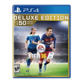 FIFA 16 *Deluxe Edition* - PS4 (USA)
