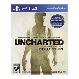 UNCHARTED: The Nathan Drake Collection - PS4 (USA)