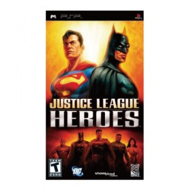 Justice League Heroes - PSP (USA)