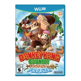 Donkey Kong Country Tropical Freeze - Wii U (USA)