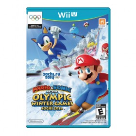 Mario & Sonic at the Sochi 2014 Olympic Winter Games - Wii U (USA)
