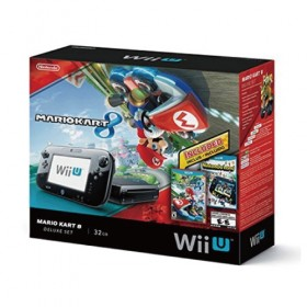 Nintendo Wii U 32GB Deluxe Set: Mario Kart 8 and Nintendo Land Bundle (USA)