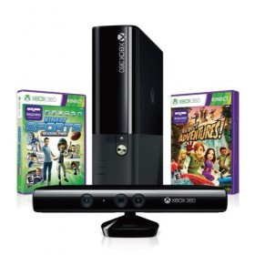 Microsoft Xbox 360 E 4GB  - Kinect Holiday Value Bundle - (USA)