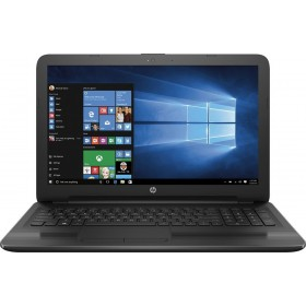 "HP 15.6"" HD WLED Backlit Display Laptop, Quad-Core 2GHz, 4GB RAM, 500GB HDD, WiFi, DVD RW, Webcam, Windows 10, Black"