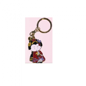 Key Ring - KH-D07 Comic MAIKO Red -