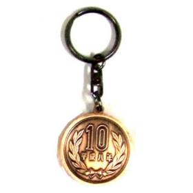Key Ring - KH-D12 10 yen Coin -