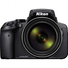 Nikon COOLPIX P900 Digital Camera with 83x Optical Zoom and Built-In Wi-Fi(Black)-Modelo Internacional