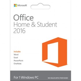 Microsoft Office Home and Student 2016 - PC Key Card