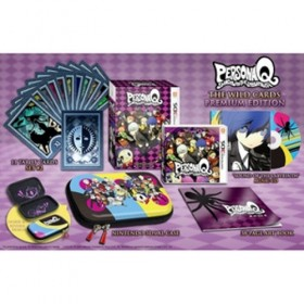Persona Q: Shadow of the Labyrinth: The Wild Cards Premium Edition - 3DS (USA)