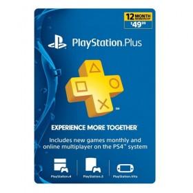 $ 1-Year PlayStation Plus Membership - PS3/ PS4/ PS Vita [Digital Code]