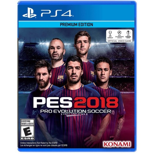 $ Pro Evolution Soccer 2018 - PlayStation 4 - Premium Edition