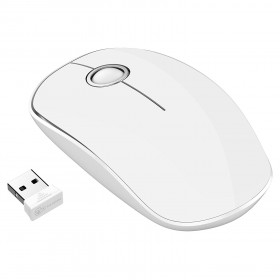 Qtuo USB Wireless Mouse (WHITE)